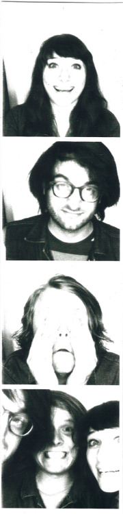 grey and i got to snap a photobooth with ty segall!!