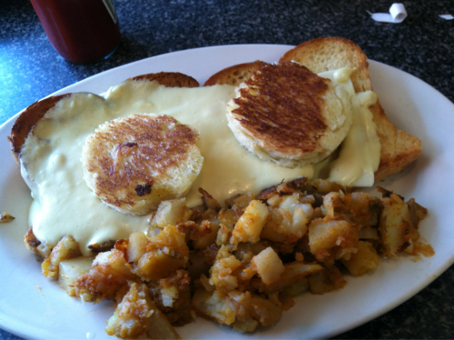 South Wedge Diner's Eggs in a Basket. #roc