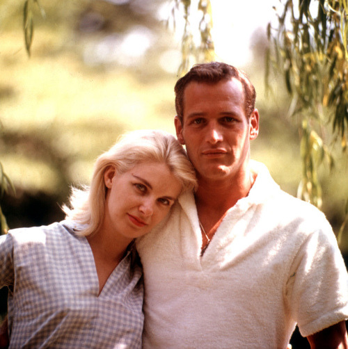 ayamai:  Joanne Woodward and Paul Newman