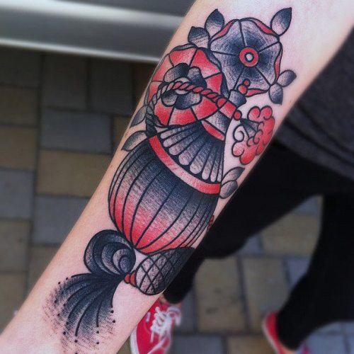 tattoosforpassionnotfashion:  done by lenny lenert