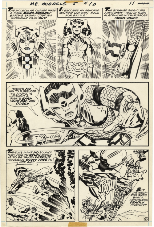 Mister Miracle Issue 5, Page 10 Kirby, Royer