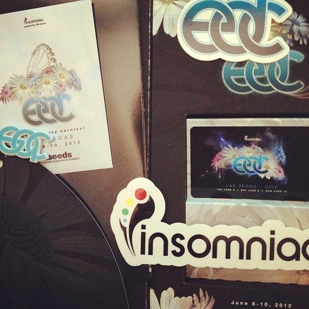 Look what comes in the mail. #EDC #vegas (Taken with instagram)