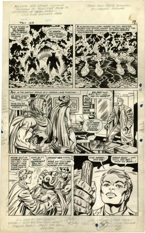 Thor Issue 143, Page 15 Kirby, Everett