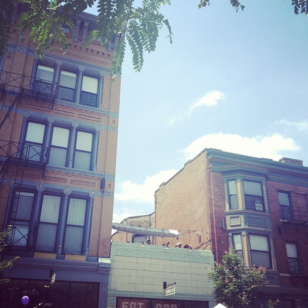 I spy a rooftop patio on Vine Street in OTR, via The City Flea