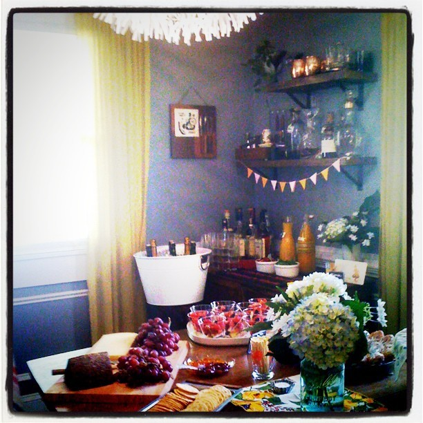 Party time! #mimosabar (Taken with instagram)