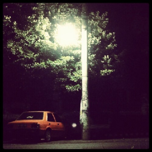 A lonely car (Taken with instagram)