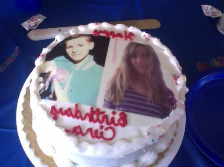 The vinny birthday cake I got for my friend in August :)