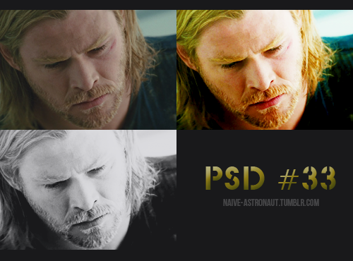 naive-astronaut:  PSD #33 Thor DOWNLOAD: da|||box Please like if you download it:)