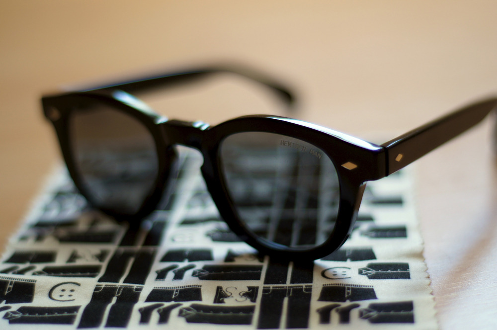 anchordivision:  Hentsch Man – Bobby Black Sunglasses via OPUMO | Anchor Division