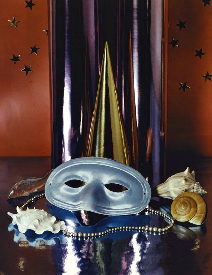 Paul Outerbridge Jr. Party Mask with Shells 1936