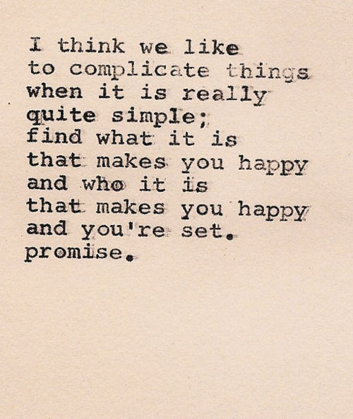 I like this because its done on a typewriter :)