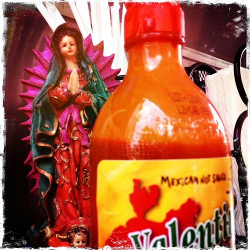 Our Lady of Hot Sauce…