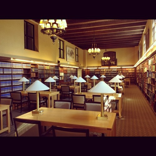 2 years of 12 hour days in the Fletcher library (Taken with instagram)