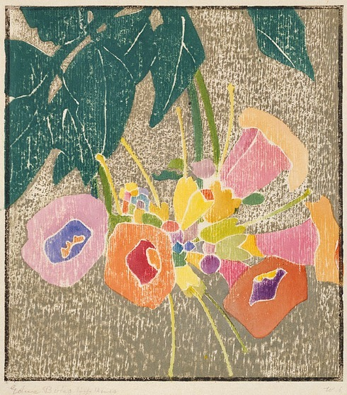 Edna Boies Hopkins Trumpet Vine 1916