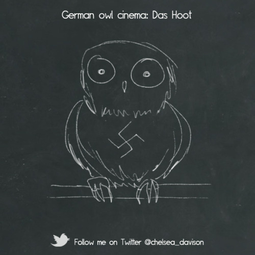German Owl Cinema. Follow me.