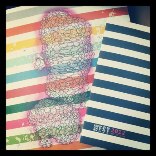 Just picked up my WEST Austin Studio Tour catalog! So excited (Taken with instagram)