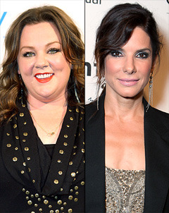 amyohconnor:  Sandra Bullock and Melissa McCarthy are teaming up for a buddy cop comedy that Paul Feig will direct from a script penned by Katie Dippold (Parks and Recreation) and I am weeping at the possibilities.   oh my god