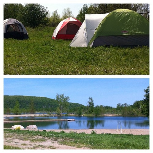 #camping weekend with @rayhem87 @light_lime @peachthompson @sarahjoyce  (Taken with instagram)