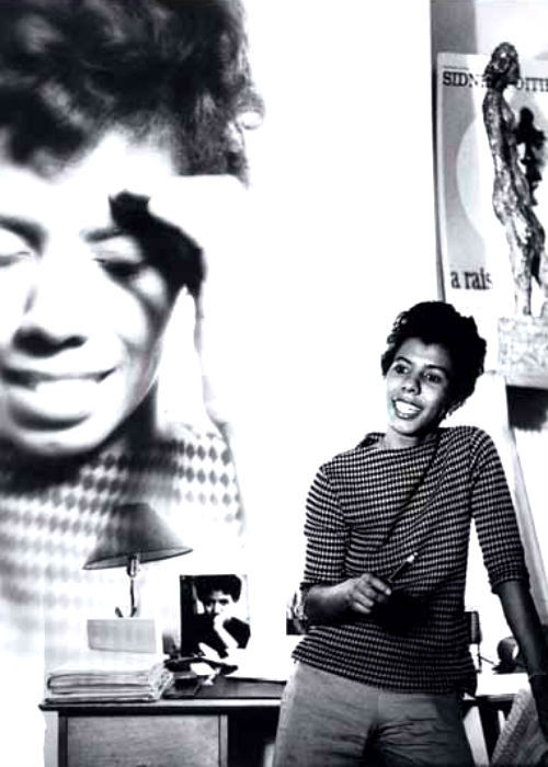 oldfilmsflicker:  Happy Birthday Lorraine Vivian Hansberry the 3rd (May 19, 1930 – January 12, 1965)
