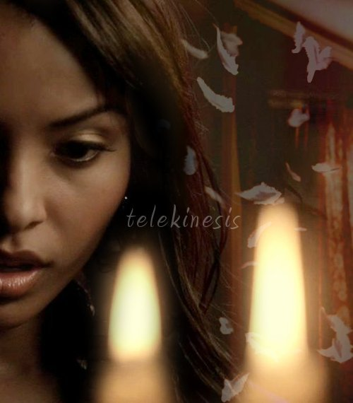 AU meme - TVD characters as metahumans Bonnie Bennett: telekinesis