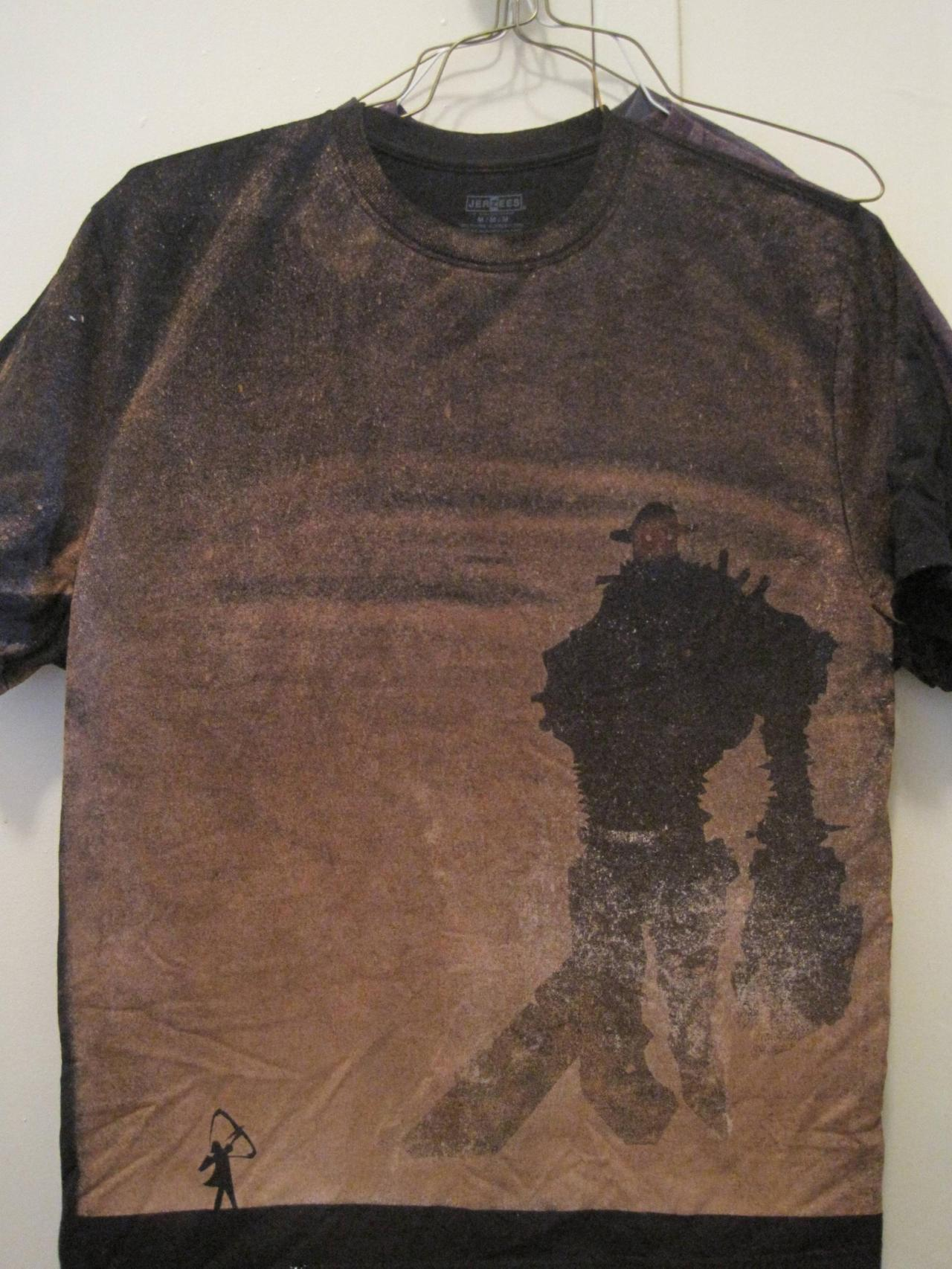 geeksngamers:  Awesome bleached shirt design by kdub1193 (via reddit)