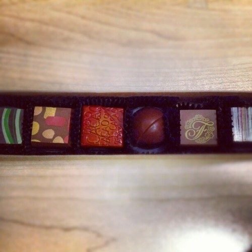 Just some #chocolates from work (Taken with instagram)
