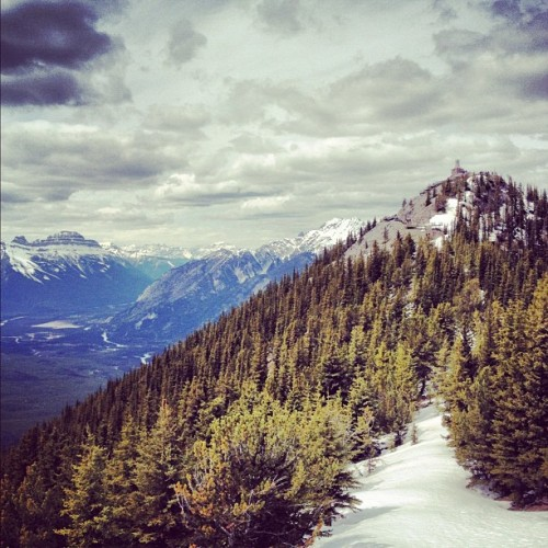 #mountain #scenery #nature #Canada (Taken with Instagram at Banff, Alberta)