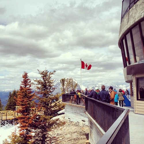 #Canada #mountains #scenery (Taken with Instagram at Banff Gondola)