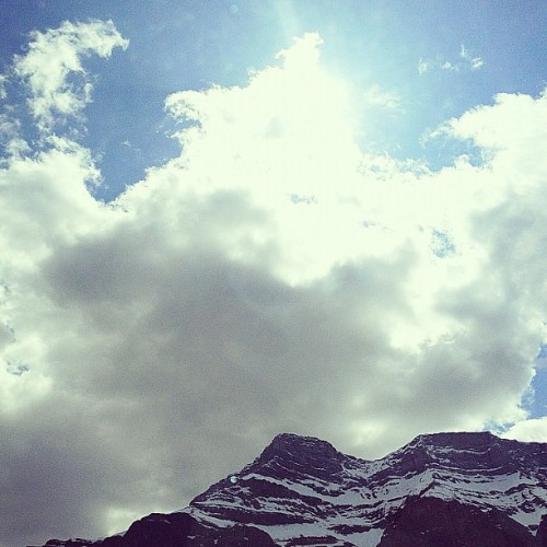 #Rockies #Canada #mountain #sky #nature #scenery (Taken with Instagram at Banff, Alberta)