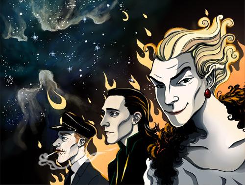Low Key, Loki, LokeNeil Gaiman, Marvel, John Bauer