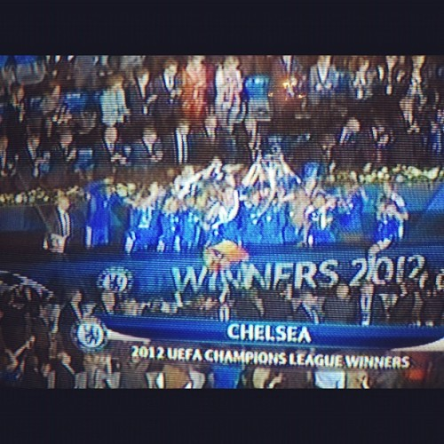 Drogba earned it…#chelsea #soccer (Taken with instagram)