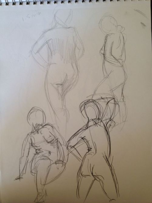 Figure drawing session part 1 of 2