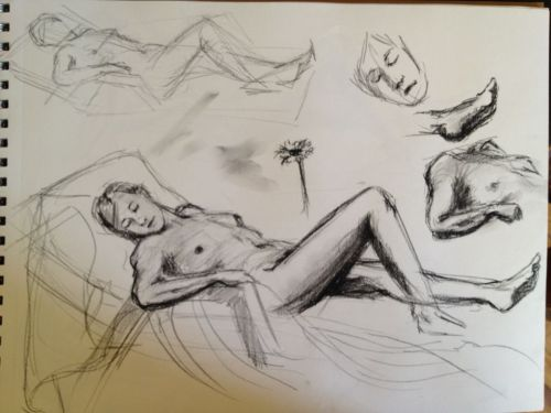 Figure drawing session part 2 of 2