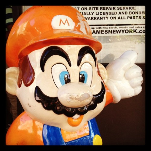 I found Mario in NoHo NYC (Taken with instagram)