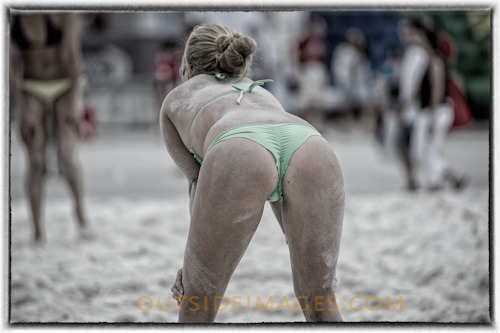 Big day of sport in the Miami and beach Volley Ball was the name of the game