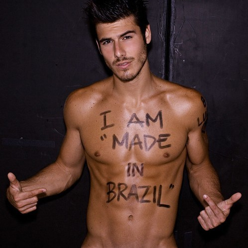 tattoosandskinnylove:  I have long decided that I am moving to Brazil and finding myself a hot man there. I don't care if I don't speak Portuguese. I know enough spanish to let me understand the very little communication we will need. lol  I love brazil :-)
