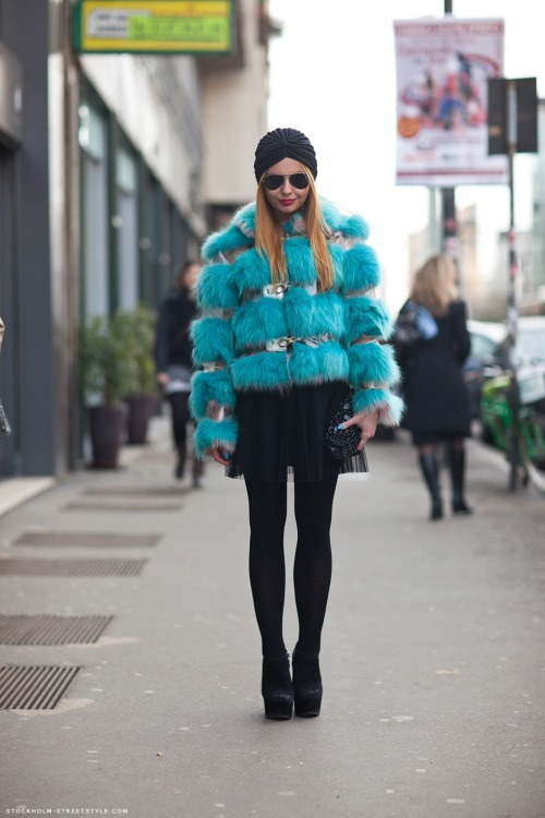 what-do-i-wear:  Mirella (image: stockholmstreetstyle)