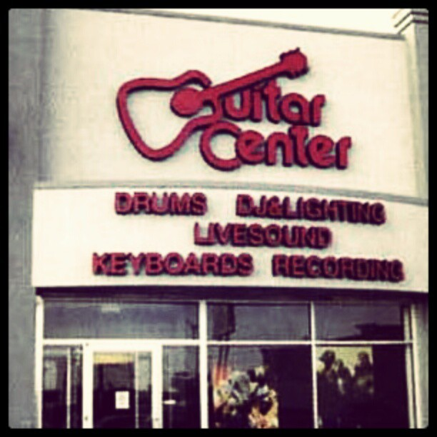 Day 19 - Favourite place - Guitar Center #photoadaymay #guitarcenter  (Taken with instagram)