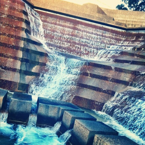 Water Garden falls (Taken with instagram)