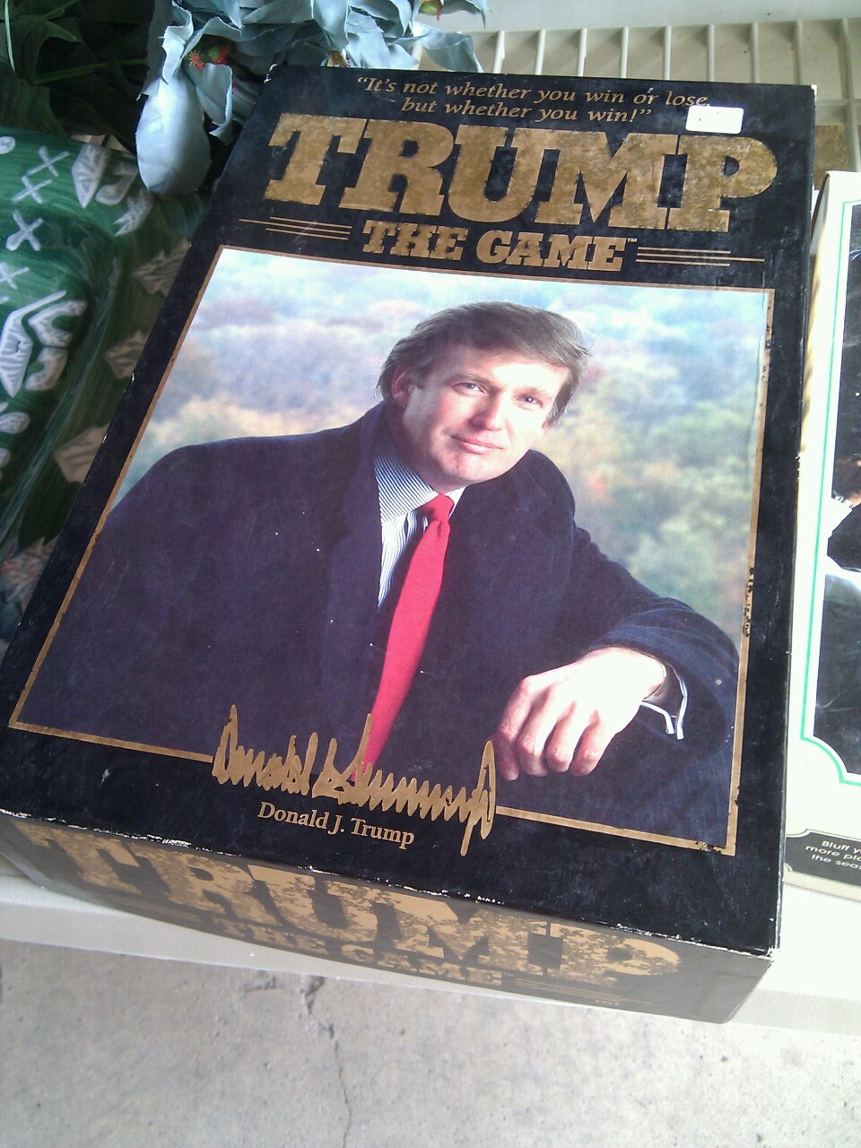 I was garage saling today and saw this for $3.