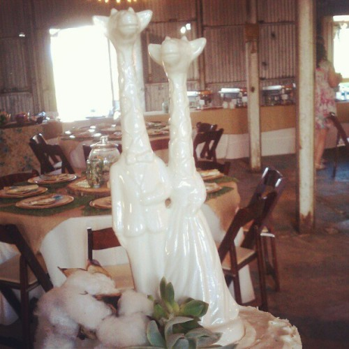 Wedding cake! @cdfio & tate_ellington  (Taken with instagram)