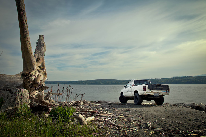 AutomotivePhoto of my friend's truck up in Port Townsend, Wa.
