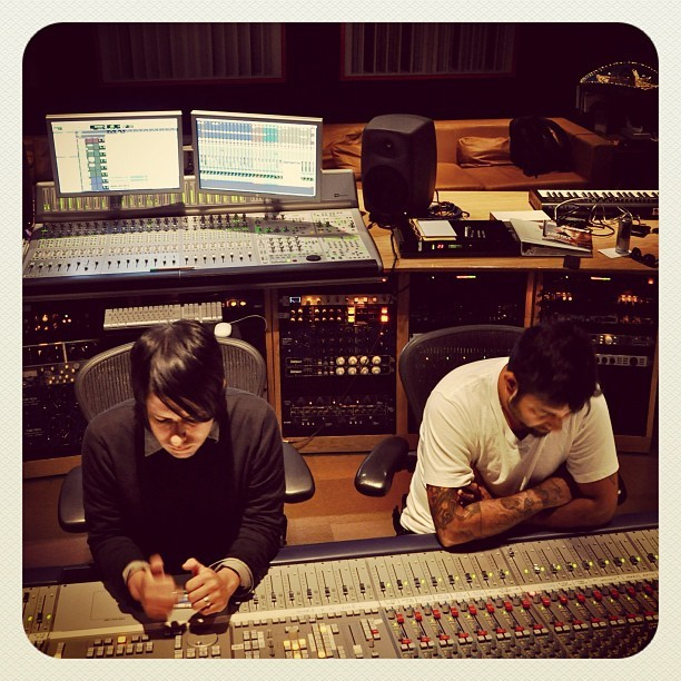 redbullstudiola:  ††† - Mix at Red Bull Studio, Los Angeles