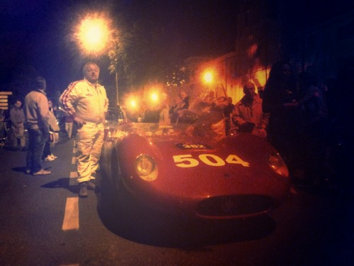 Yes, he made it! And after having done the Mille Miglia he has a reason to be proud.