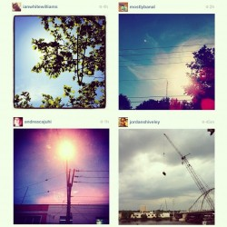 Instagram comic. A sequence from my photo stream. Pictures credited above. @ianwhitewilliams, @andreacajuhi, @jordanshiveley, please don't hate me:) #ourphotoaday Lightness 2.  (Taken with instagram)