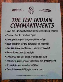 the-native-soul:  Commandments (Source)