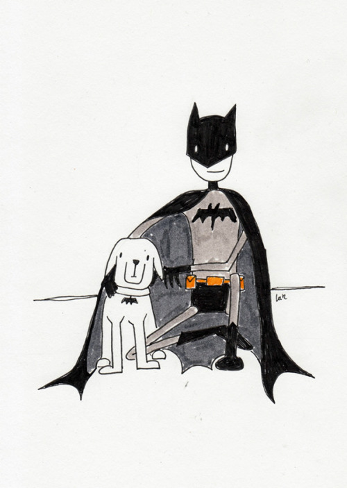 Batman and Ace the Bathound (part of the Superhero pets series) Buy