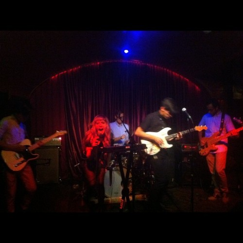 @wildmoccasins at @kungfunecktie #philly (Taken with instagram)
