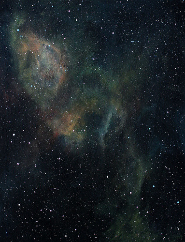 Space Painting by Nicole Johnson