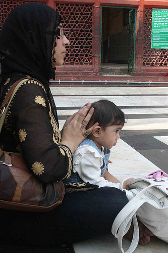 Mother's Hands - Somewhere in Delhi.